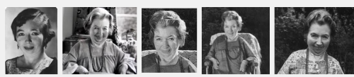 Photos of Rosemary Sutcliff, historical novelist and children's writer